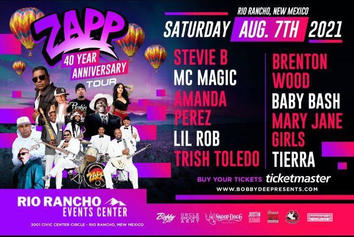 ZAPP's 40th Anniversary Concert New Mexico