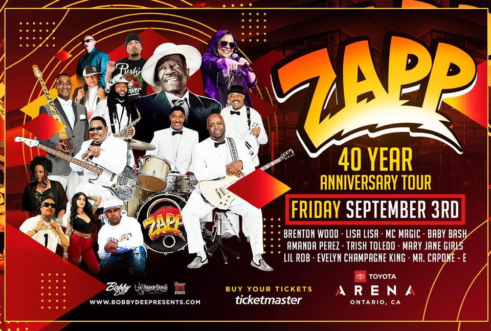 ZAPP's 40th Anniversary Concert